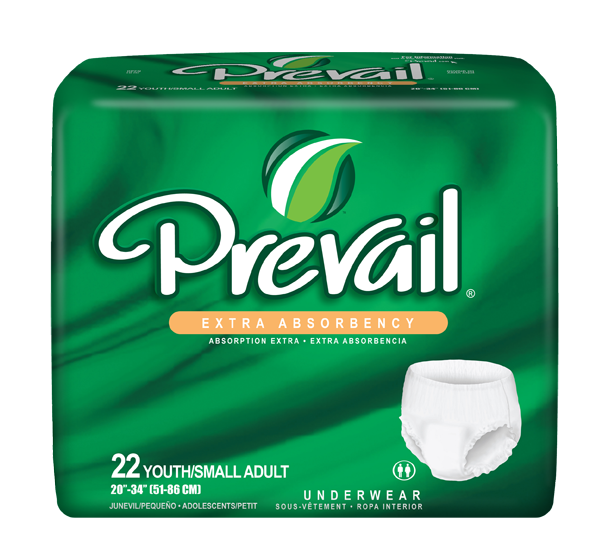 First Quality® Prevail® Protective Underwear - Adjustable, Extra, and Super Plus