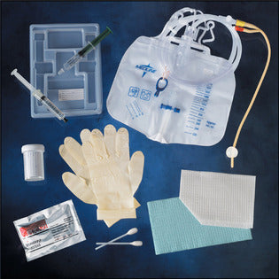Kenguard Silicone Coated 2-Way Foley Catheter Tray with Catheter