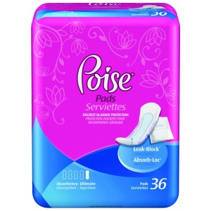 Poise® Pads Ultimate Coverage