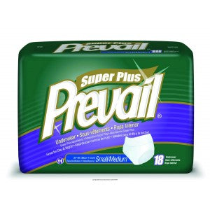 Prevail® Protective Underwear - Adjustable, Extra, and Super Plus