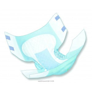 Covidien Wings™ Choice Plus Quilted Briefs for Total Incontinence