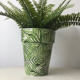 Green Leaf Pot