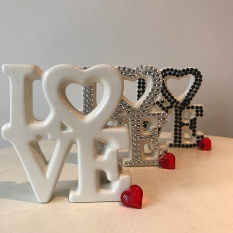 Love Ceramic Decoration