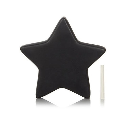 Chalkboard Ceramic Star - Palm Pot & Peony