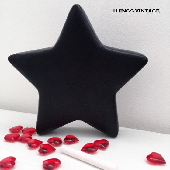 Chalkboard Ceramic Star