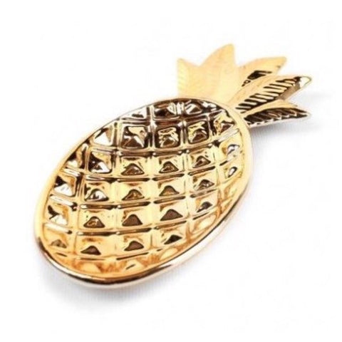 Pineapple Gold Trinket Tray