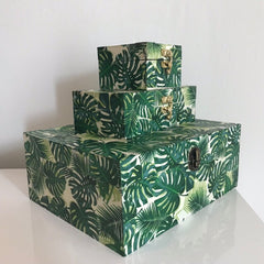 Boxes in Green