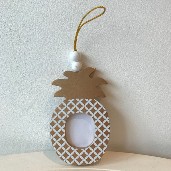 Pineapple Gold Photo Frame