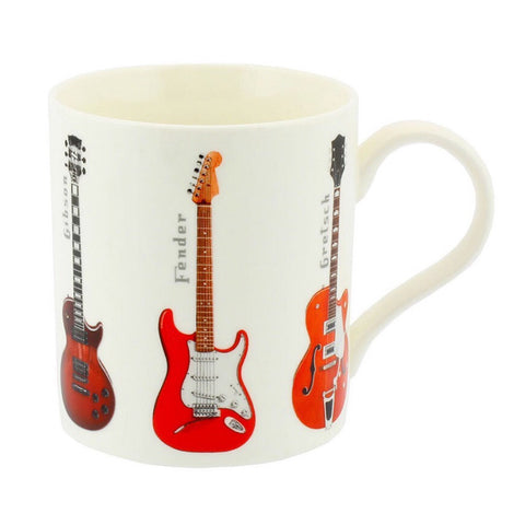Guitars China Gift Boxed Mug