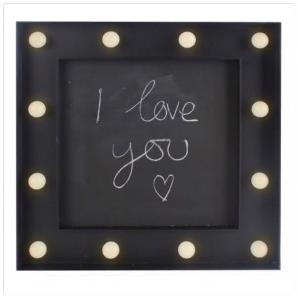 Chalkboard LED Light Up Sign 30cm