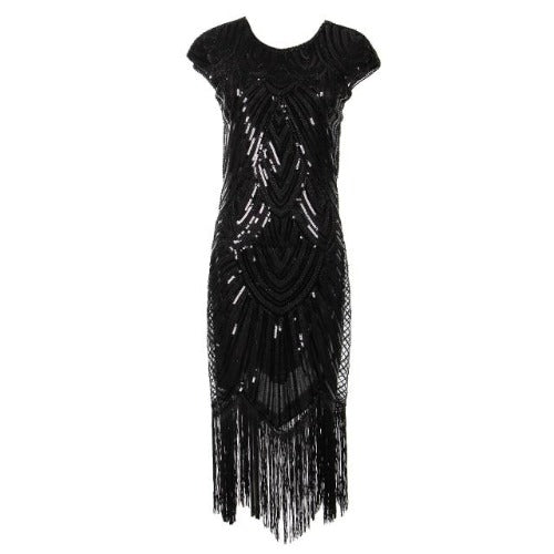 Flapper Dress Black