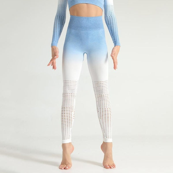 Ombre Breathable Fitness Leggings