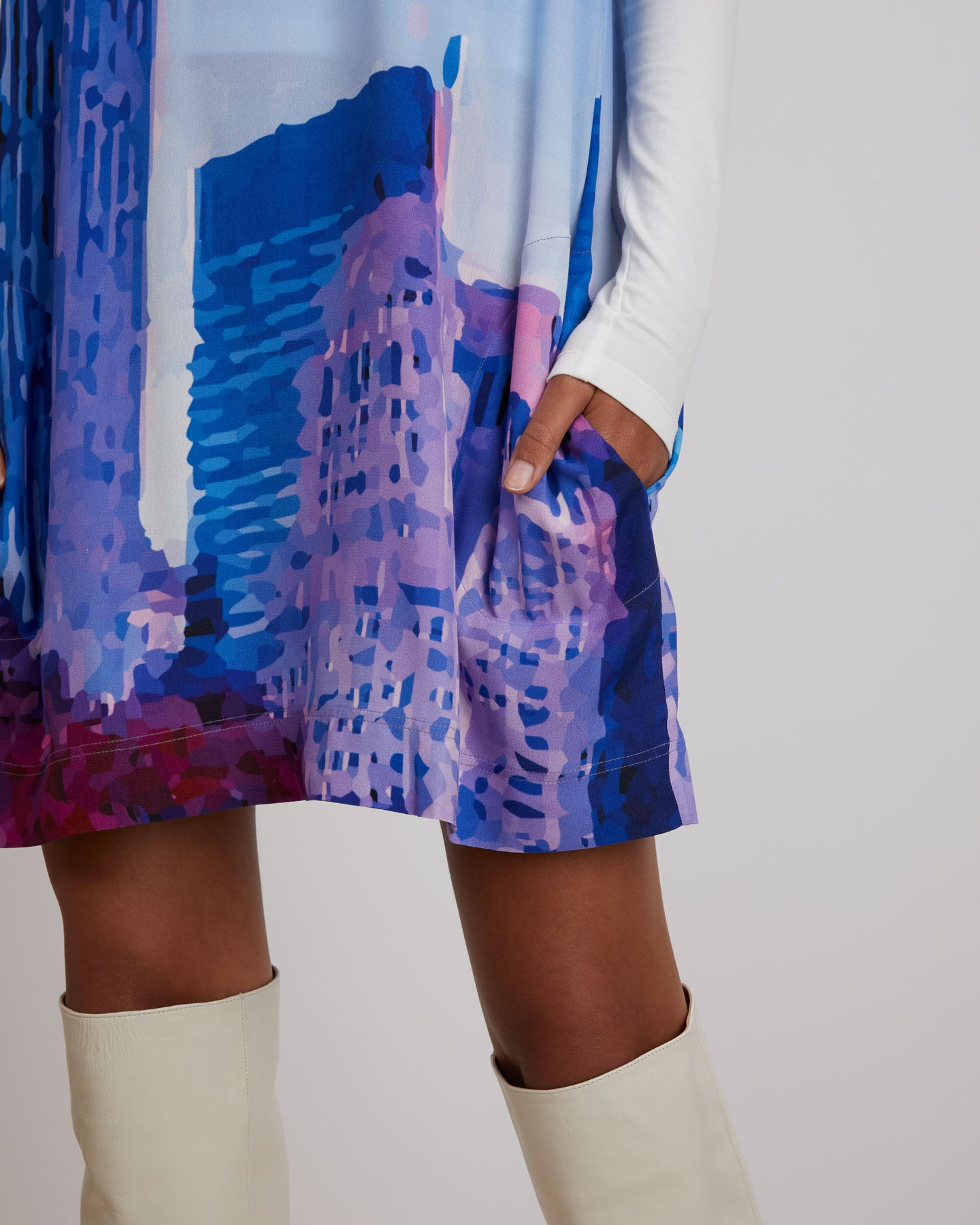 Maya Dress | Purple Haze
