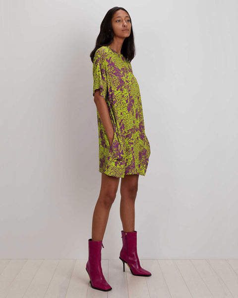 Maya Dress | Lime Complication