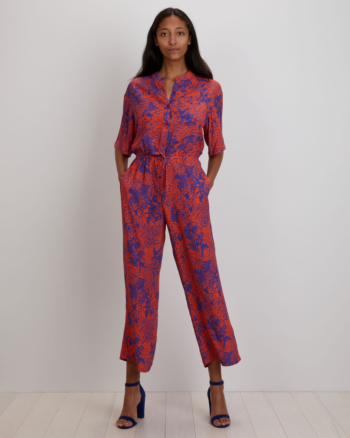 Issa Jumpsuit | Orange Complication