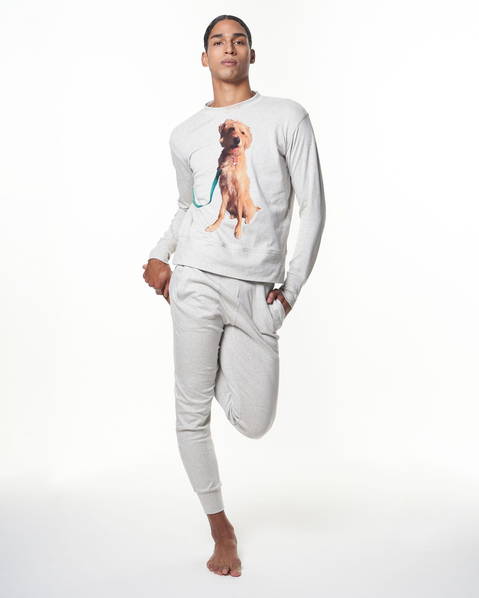 Men's Crewneck Sweatshirt | Rumi Pup