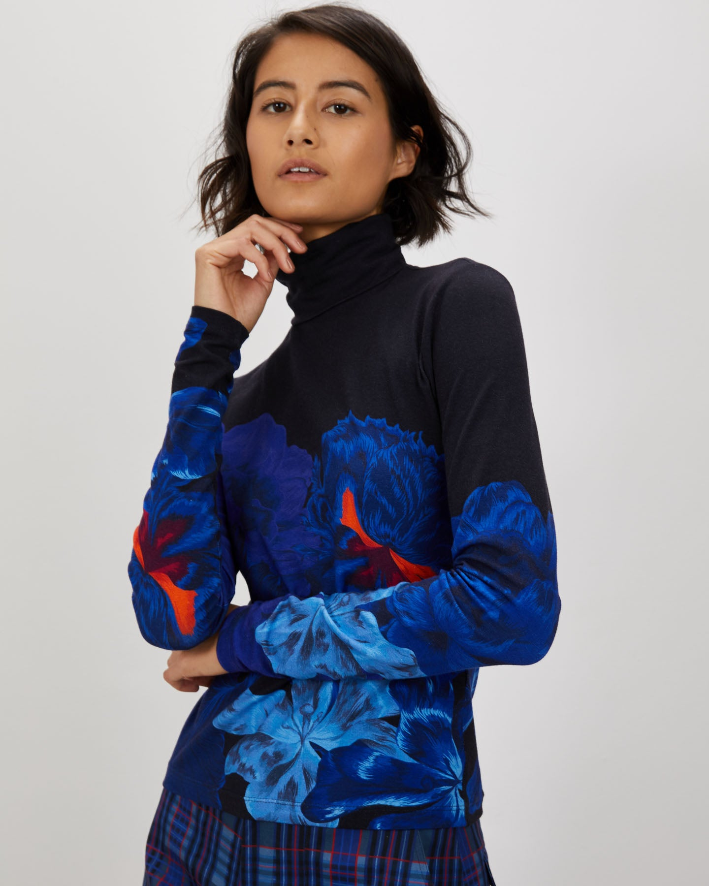 Turtleneck | Indigo Iris