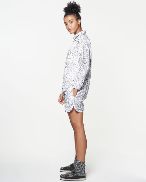 Soccer Short | Fenced Floral