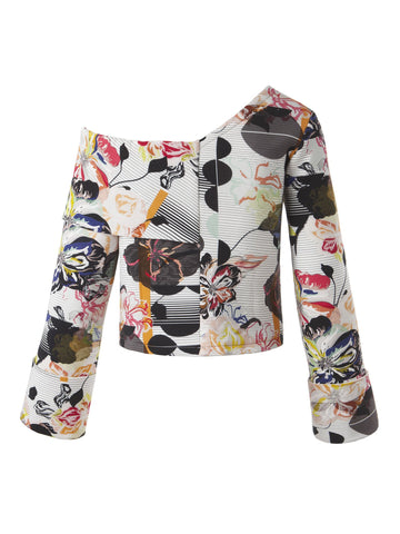 Logan Sweatshirt | Graffiti Floral