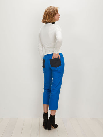 Cropped Alexa Jean | Ultramarine Blue