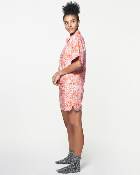 Soccer Short | Blush Marble