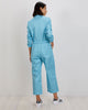 Alex Jumpsuit | KIT Blue Cubes