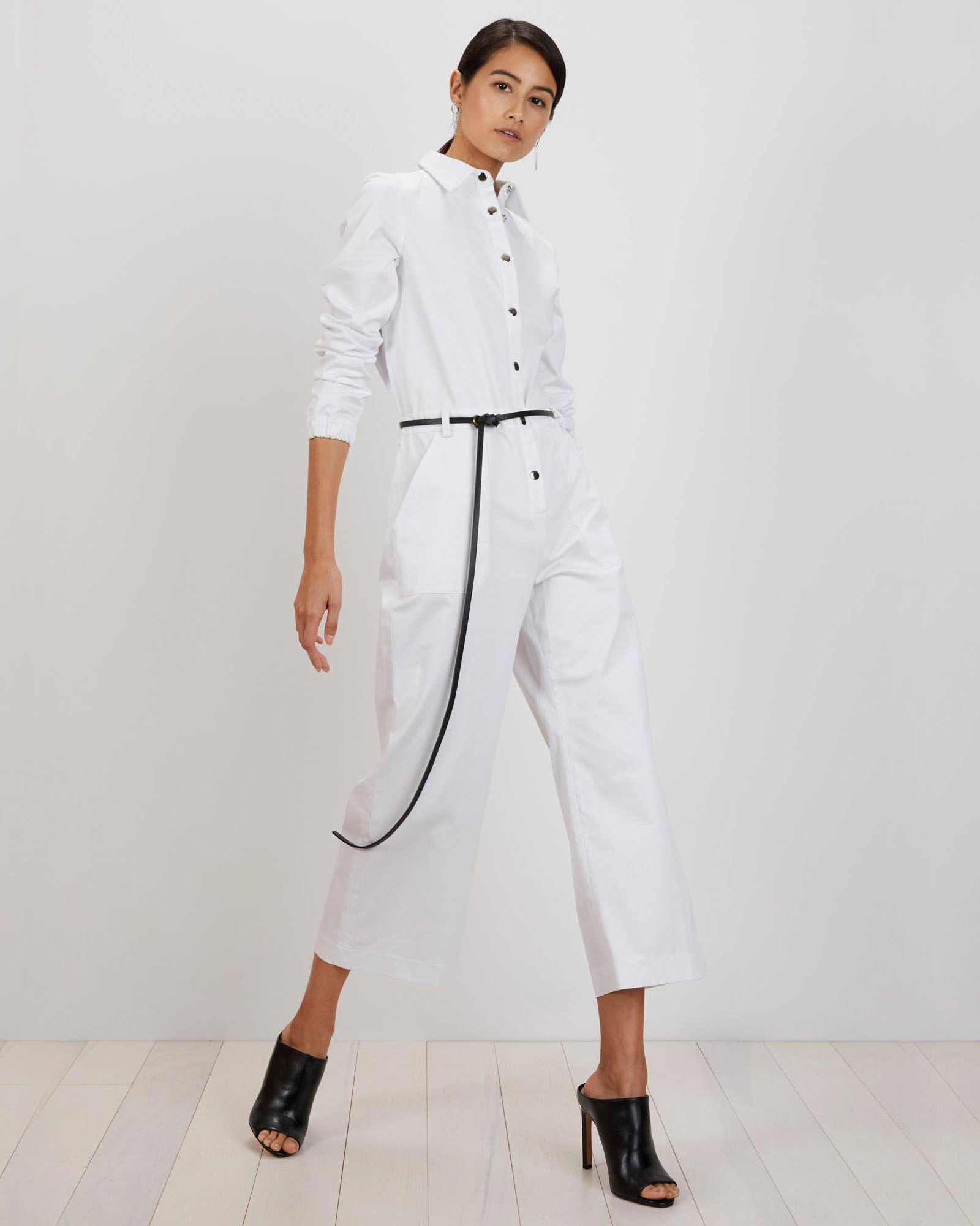Alex Jumpsuit | White