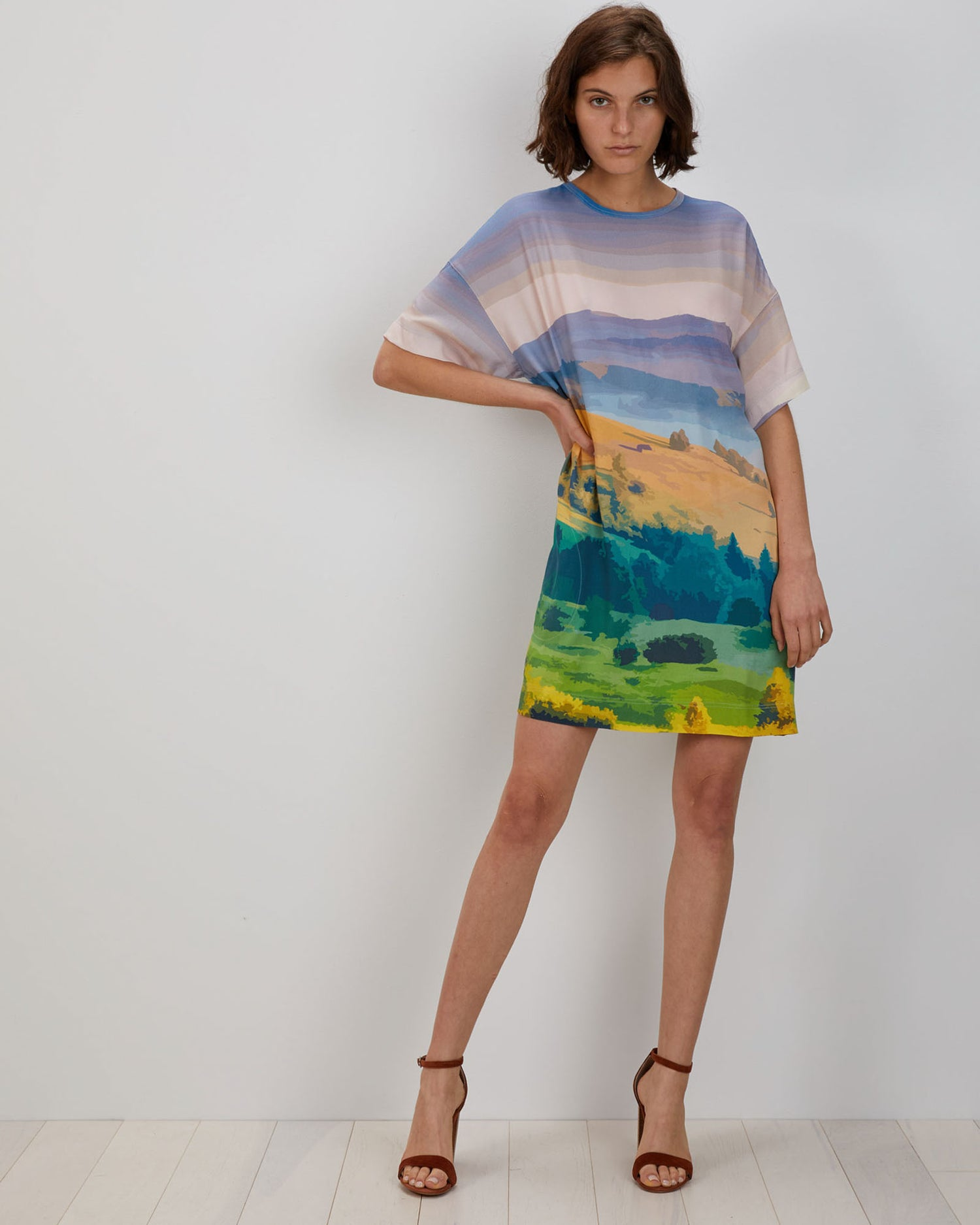 Maya Dress | Mountain Postcard