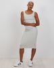 Midi Tank Dress | Heathered Grey