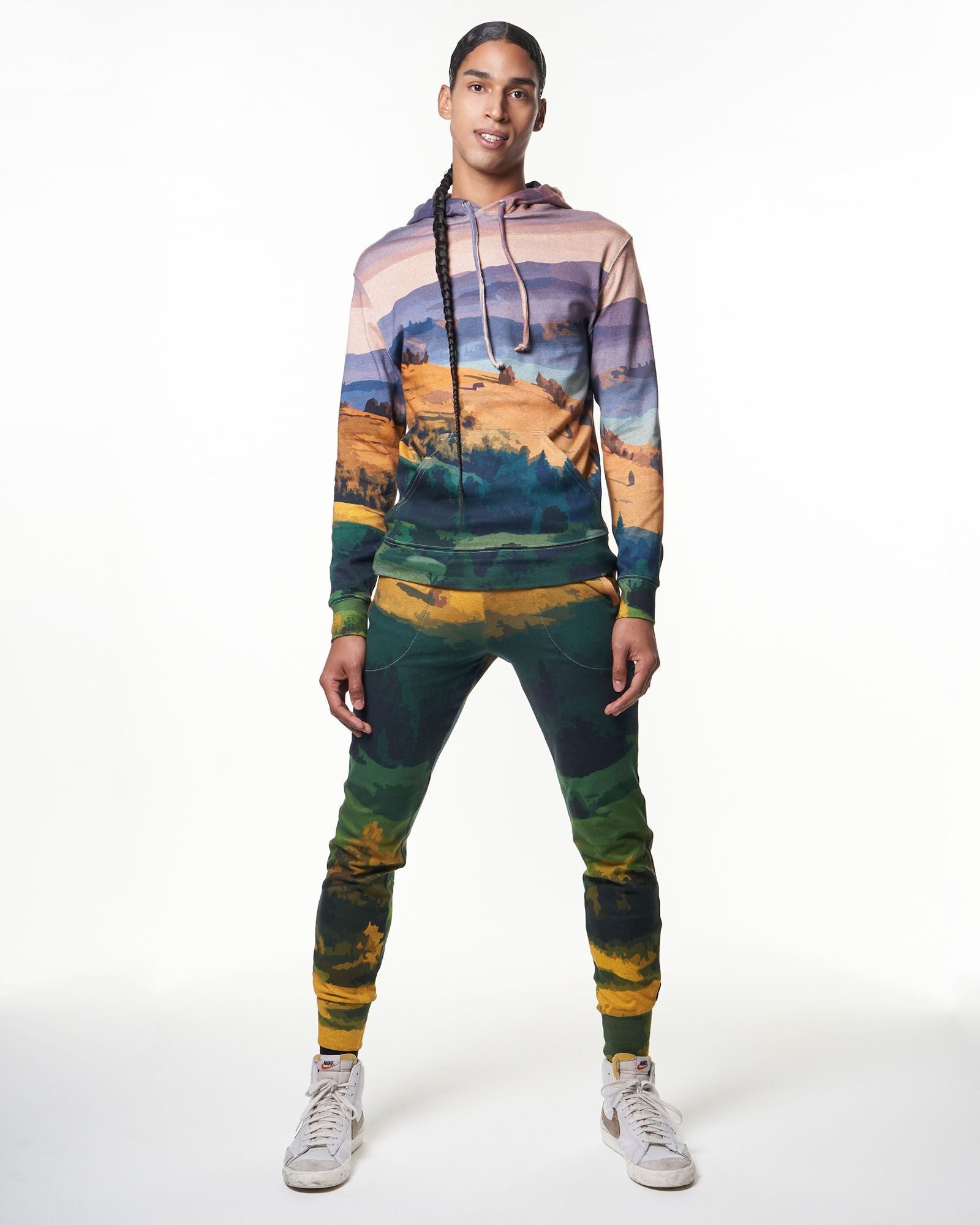 Men's Sweatpant | Mountain Postcard