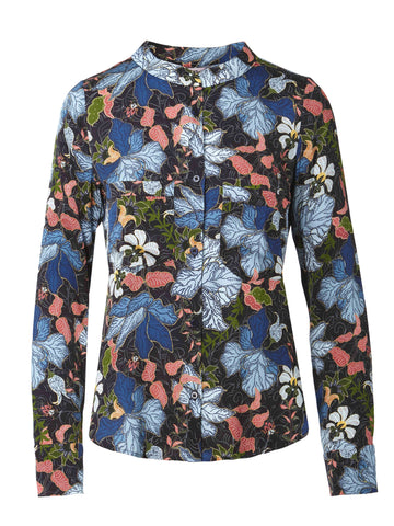 Long Sleeve Cobie Blouse | Dot Florals