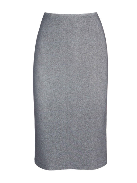 Olivia Skirt | Heathered Grey