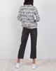 Rumi Sweatshirt - Blush Crosswalk in Cotton Spandex