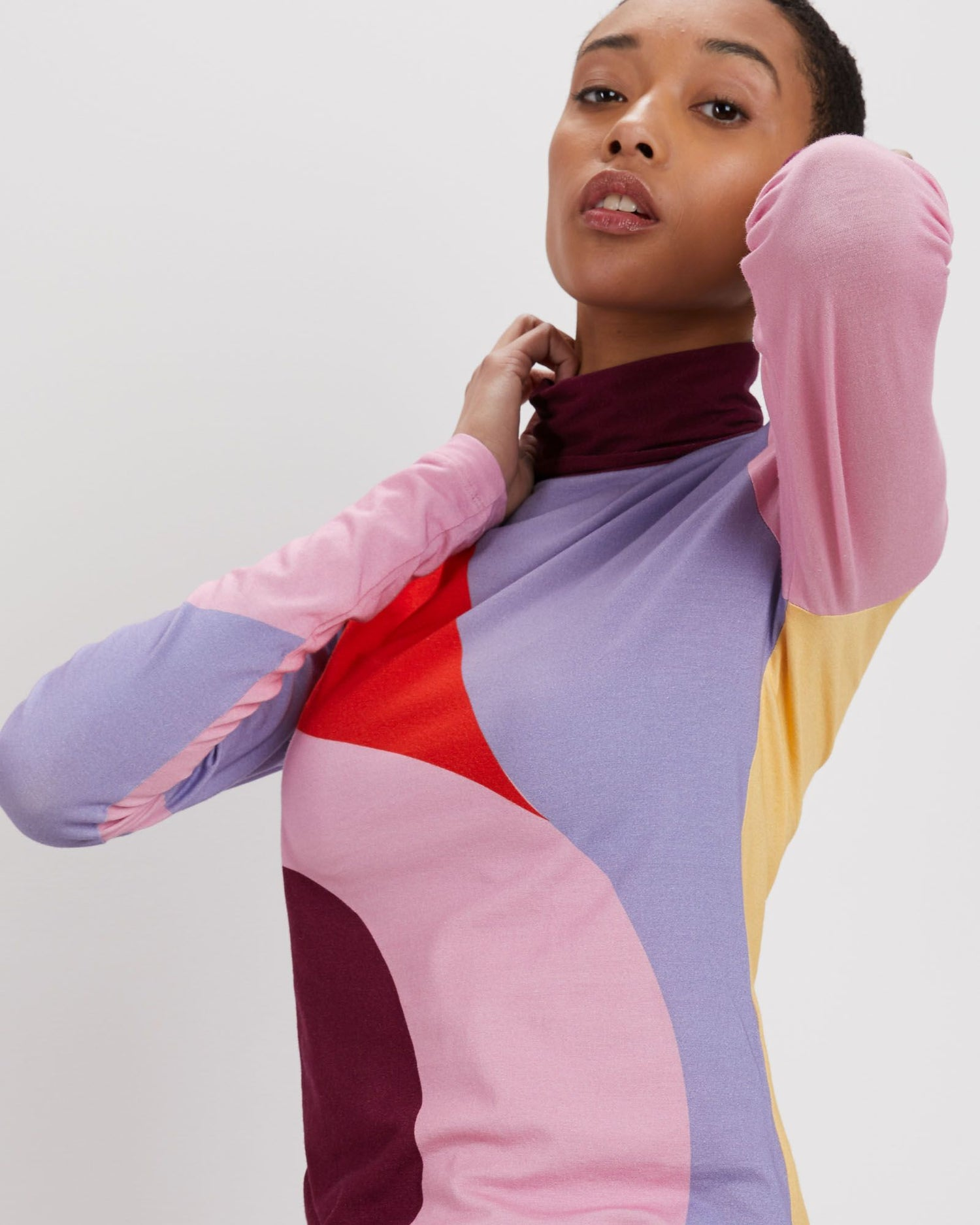 Turtleneck | Dahlia Cut Paper