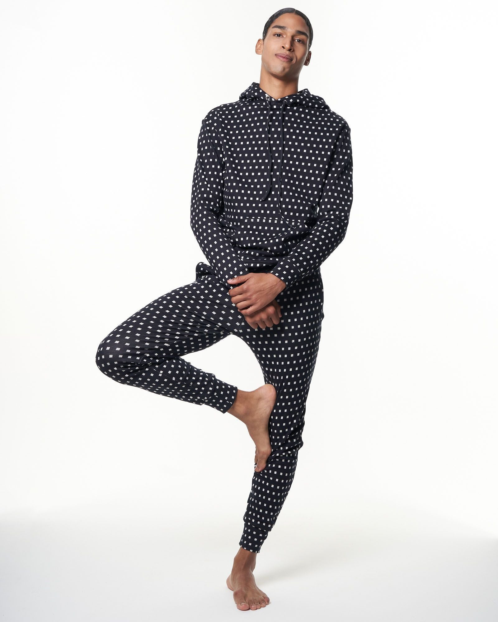 Men's Sweatpant | Black Cubes