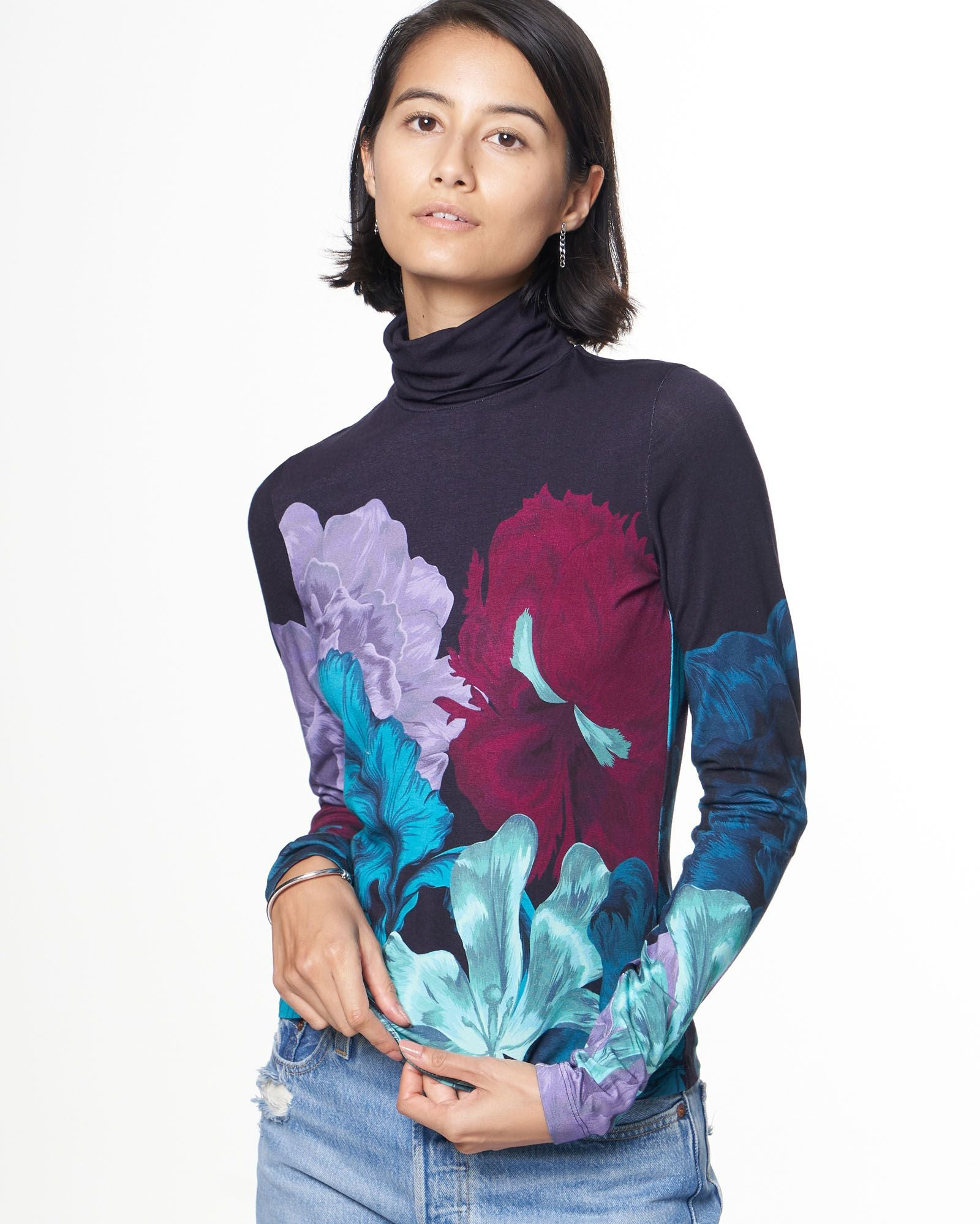 Turtleneck | Ocean Iris