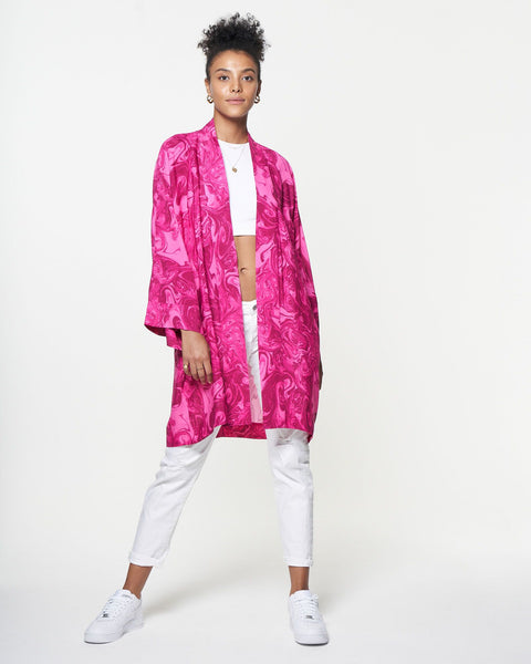Brea Robe | Marble Passion