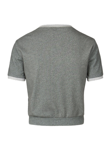 Ringer Tee | Heathered Grey