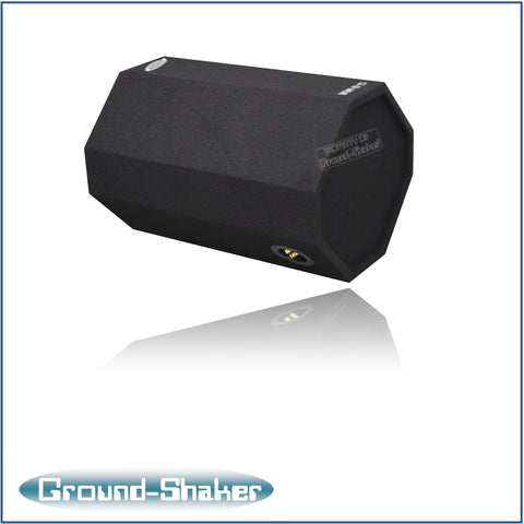 "GS-BZK10B <br> BLACK 10"" SINGLE PORTED BASS TUBE"