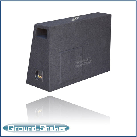 "GS-PTK112B <br> BLACK 12"" SINGLE PORTED SUB BOX"