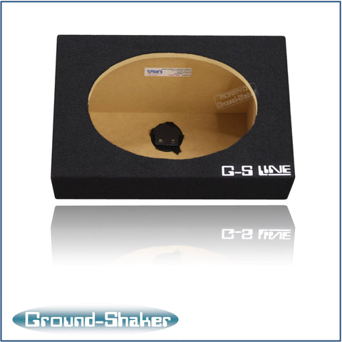 "GS-GS16X9B <br>BLACK ""6X9"" SINGLE SPEAKER ENCLOSURE"