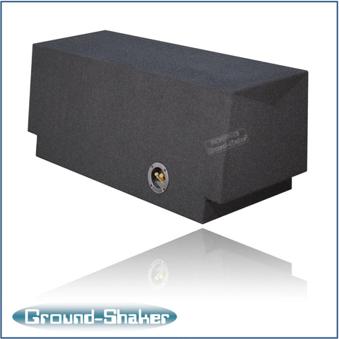 "GS-KCMK110B <br> BLACK 10"" SINGLE SEALED SUB BOX, FITS CHEVY CAMARO 2016-2017"