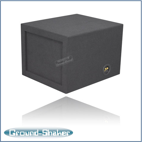 "GS-KKP112B <br>   BLACK 12"" SINGLE SLOT PORTED SUB BOX"
