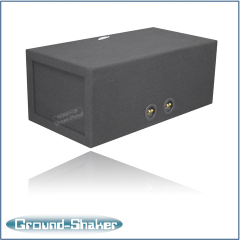 "GS-KKP212B <br>BLACK 12"" DUAL SLOT PORTED SUB BOX"