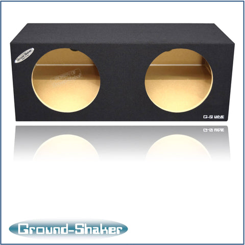 "GS-MTV212B <br>BLACK 12"" DUAL SEALED SUB BOX, FITS FORD MUSTANG COUPE 2005-2015"