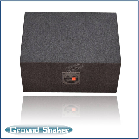 "GS-XL16X9B <br> BLACK 6""X9"" SINGLE SPEAKER ENCLOSURE"