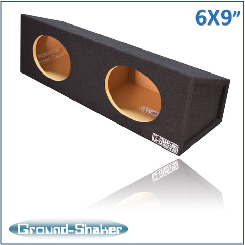 "GS-XL26X9B <br>BLACK ""6X9"" DUAL SPEAKER ENCLOSURE"