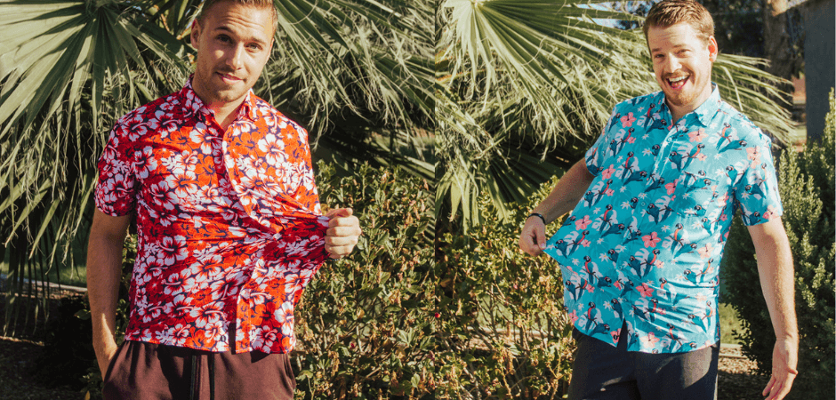 3 Places you Should & Shouldn't wear a Floral Short Sleeve Button Down