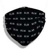 BLM Mask (washable and moisture barrier)