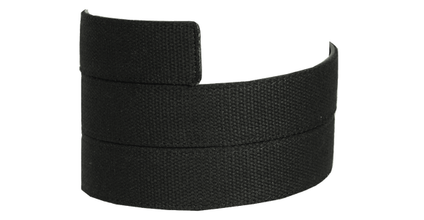 Black Canvas Strap - Tough Tie